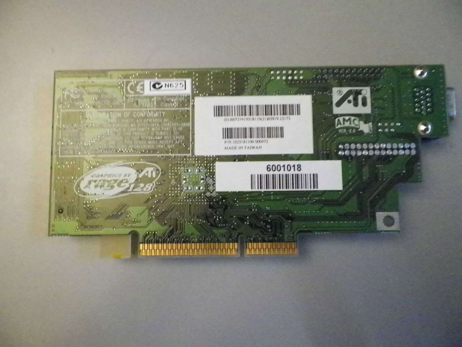 *NEW* ATI GRAPHICS CARD BY RAGE 128 6001018