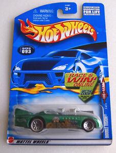 Lace Wheels Version 2002 Hot Wheels ~He Man~ Double Vision 3//4