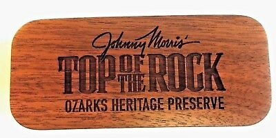 Golf Other Golf Accessories Straightforward Laser Engraved Wood Box Johnny Morris Top Of The Rock Velvet Lined New In Box Buy Now