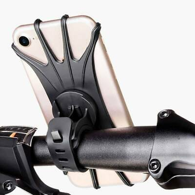 Bicycle Bike Phone Holder Mountain Road Bike Handlebar Mount Bracket silicone du