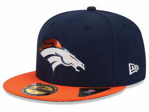 604467b1 Details about Official 2015 NFL Draft Denver Broncos Hat New Era 59FIFTY On  Stage Fitted hat