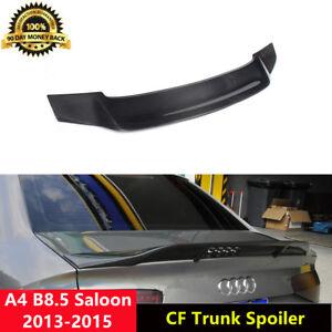 A4-B8-5-Spoiler-Carbon-Fiber-Trunk-Wing-for-Audi-Non-Sline-2013-15-R-Style