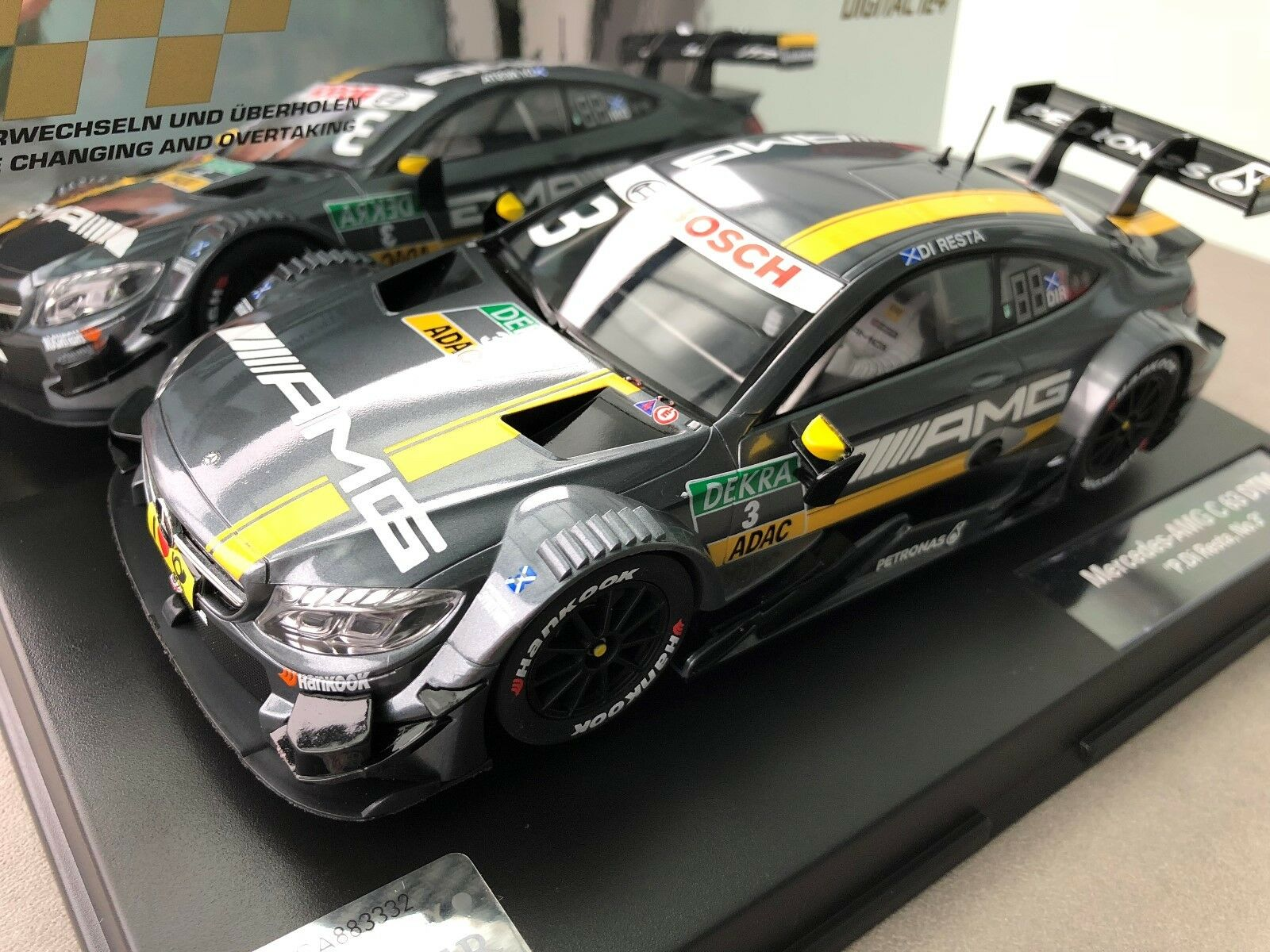 Carrera Digital 124 23845 Mercedes-Amg C 63 DTM   Paul Di Resta , No. 03   Nip
