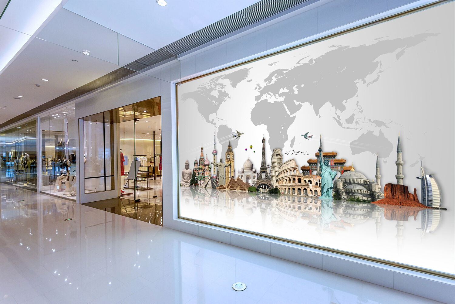 3D Towers Steeple House Wall Paper wall Print Decal Wall Deco Indoor wall Mural