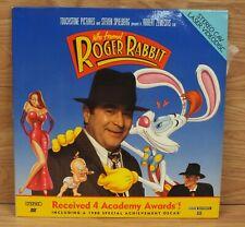 Who Framed Roger Rabbit Ltbx Cav 2 Disc Edition Laserdisc Rare For Sale Online Ebay