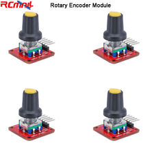 4pcs 360 Degree Ec11 Rotary Encoder Module With Button 5pin Header For Arduino