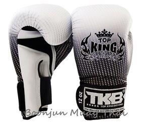NWT-TOP-KING-Boxing-gloves-Silver-TKBGSS-01-Super-Star-Air-MMA-Muay-Thai-gloves
