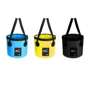 Bucket for Fruits Vegetables Waterproof Material Thicken Handle Pail for Camping