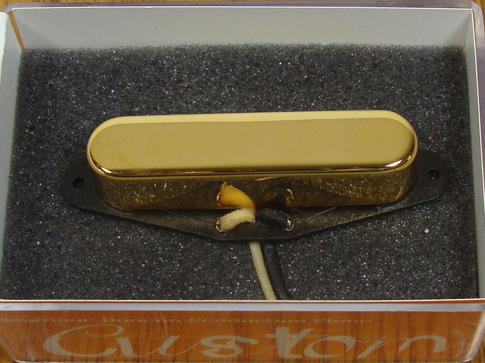 NEW Seymour Duncan APTR-1 Gold Alnico Pro II Rhythm Tele PICKUP for Fender