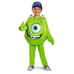 Image is loading MIKE-MONSTERS-UNIVERSITY-DELUXE-COSTUME-2T-Todder-Toys-  sc 1 st  eBay & MIKE MONSTERS UNIVERSITY DELUXE COSTUME 2T Todder Toys R Us Boys Inc ...