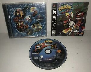 VGC CRASH BANDICOOT 3:WARPED Original Black Label Version PSX PS1 Playstation