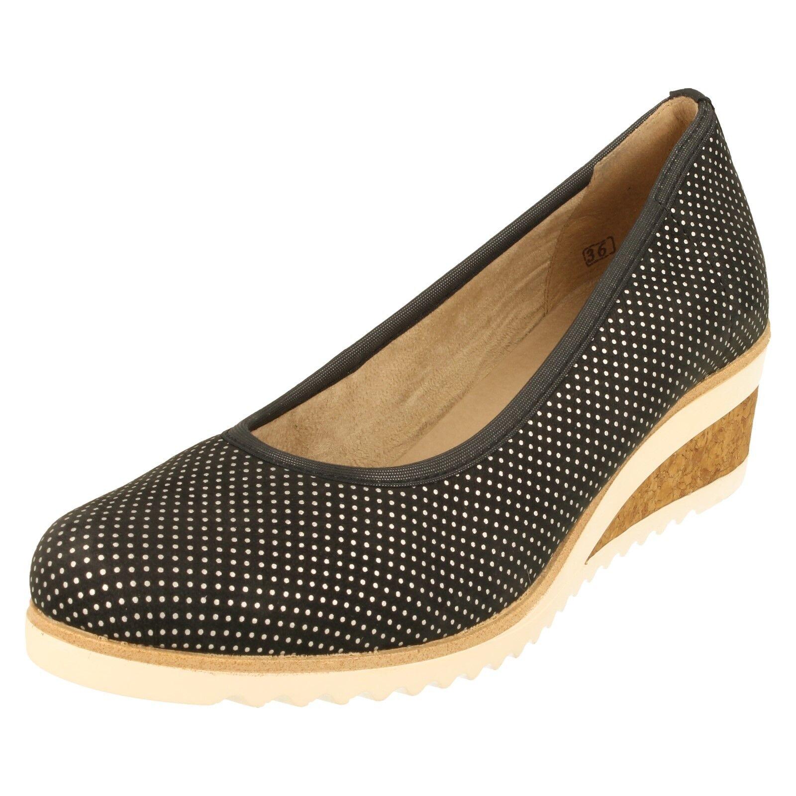 Mujer Mujer Mujer Remonte Zapatos De Cuña - D5500  precio mas barato