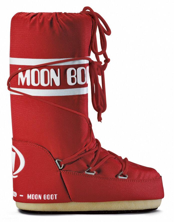 Moon avvio Nylon Doposci Scarponi Rosso Uomo Donna 14004400003 Montagna
