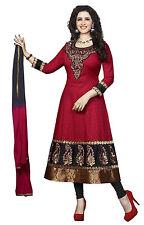 DivyaEmporio Faux Crepe  Unstitched Salwar Suit Dress Material (SST-3970)