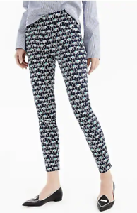 J.Crew Martie slim crop pant in elephant two-way stretch cotton-H7705-2,4,T8