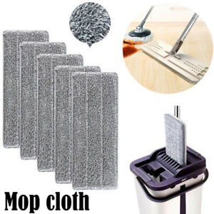 Mop Pad Cleaning Pad Flat Refill Replacement Cloth For Spray Mop Water-absorbing