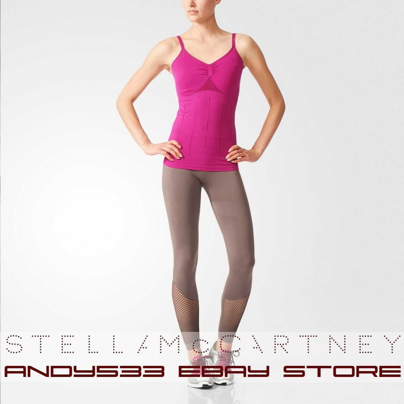 $ 110 Stella McCartney Adidas Tank Top ΕσωτΡρικΞ� σουτιέν Ξ'Ο…ΞΈΞΌΞΉΞΆΟŒΞΌΞ΅Ξ½Ξ· ιμάντΡς ΓυναίκΡς XS S M L