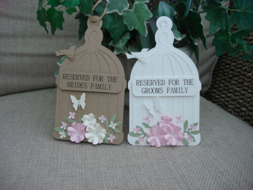 Reserved Signs for Wedding Tables