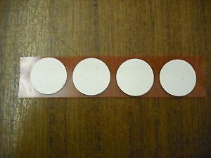 Details about Caravan/Motorhome/Boat/Home Self Adhesive Wallpaper 18mm Disc  (4) -Italian Cream
