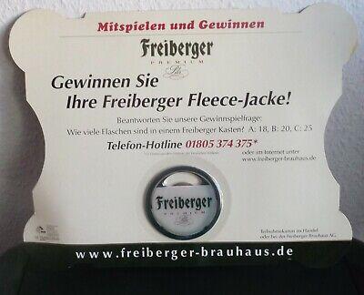 Freiberger Brauhaus 2004 Diversifizierte Neueste Designs Ovp Flaschenöffner schatzkiste Mit Gewinnspiel