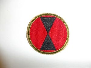 Details about b4055 Original WW 2 US Army ssi 7th Infantry Division patch  PA1 bbb9e8acbba