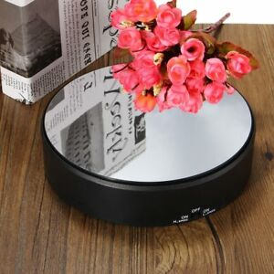 360 grad drehbar elektrischer drehteller schmuck anzeigen. Black Bedroom Furniture Sets. Home Design Ideas