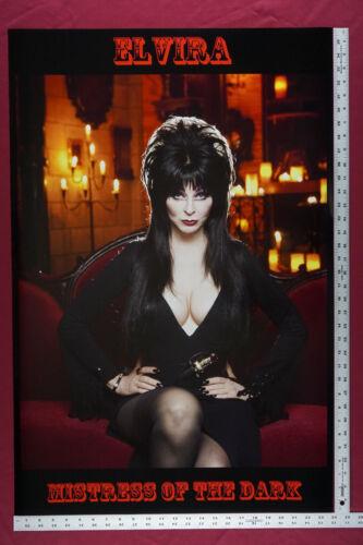 Elvira Mistress of Dark Horror Queen of Halloween Movie Poster 24X36 New  ELVH