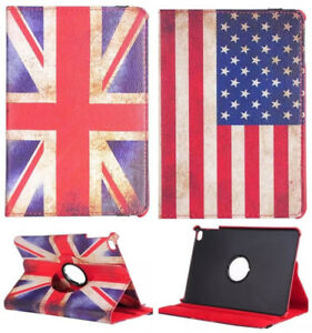 Retro-Rotating-Swivel-Cover-PU-Leather-Stand-Case-Flag-For-Apple-iPad-Tablet-PC