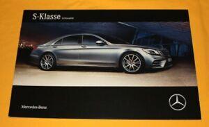 Mercedes-S-Klasse-2017-Prospekt-Brochure-Catalog-Folder-Prospetto