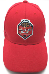 bc9d431421c TACOMA RAINIERS   2017 TRIPLE A ALL STAR GAME red adjustable cap ...