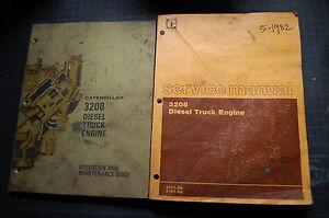 CAT CATERPILLAR 3208 DIESEL TRUCK ENGINE SERVICE SHOP REPAIR BOOK MANUAL 40S