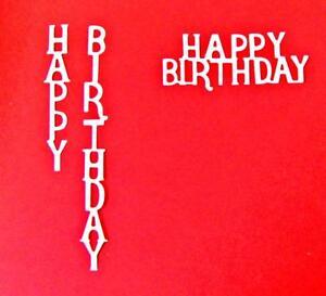 Happy Birthday Music Craft Die Cards Seller Scrapbooking U.K
