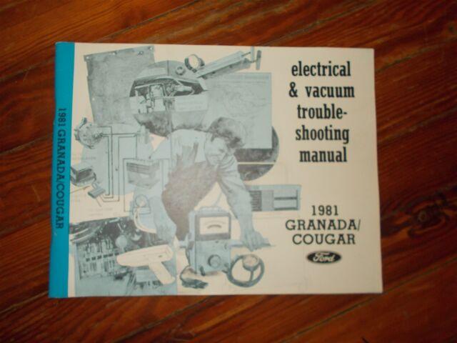 Nos 1981 Ford Granada Mercury Cougar Electrical Vacuum