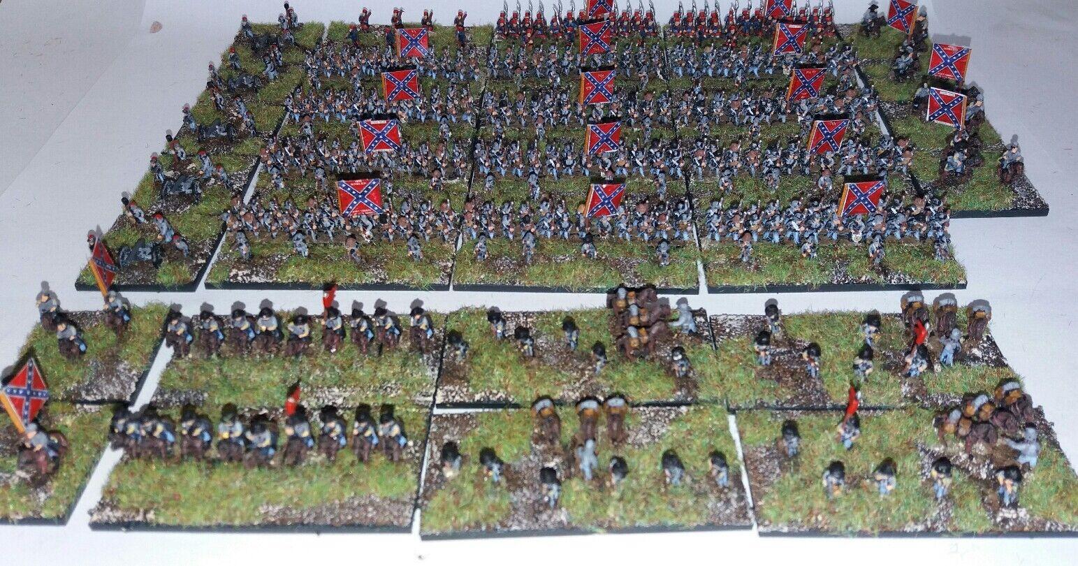 6mm Amerikanska inbördeskriget Konfederationsarmén