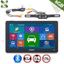 "Xgody 7"" 8gb SAT NAV Bluetooth Auto Navigazione GPS + TELECAMERA WIRELESS Retrovisore AV-IN"