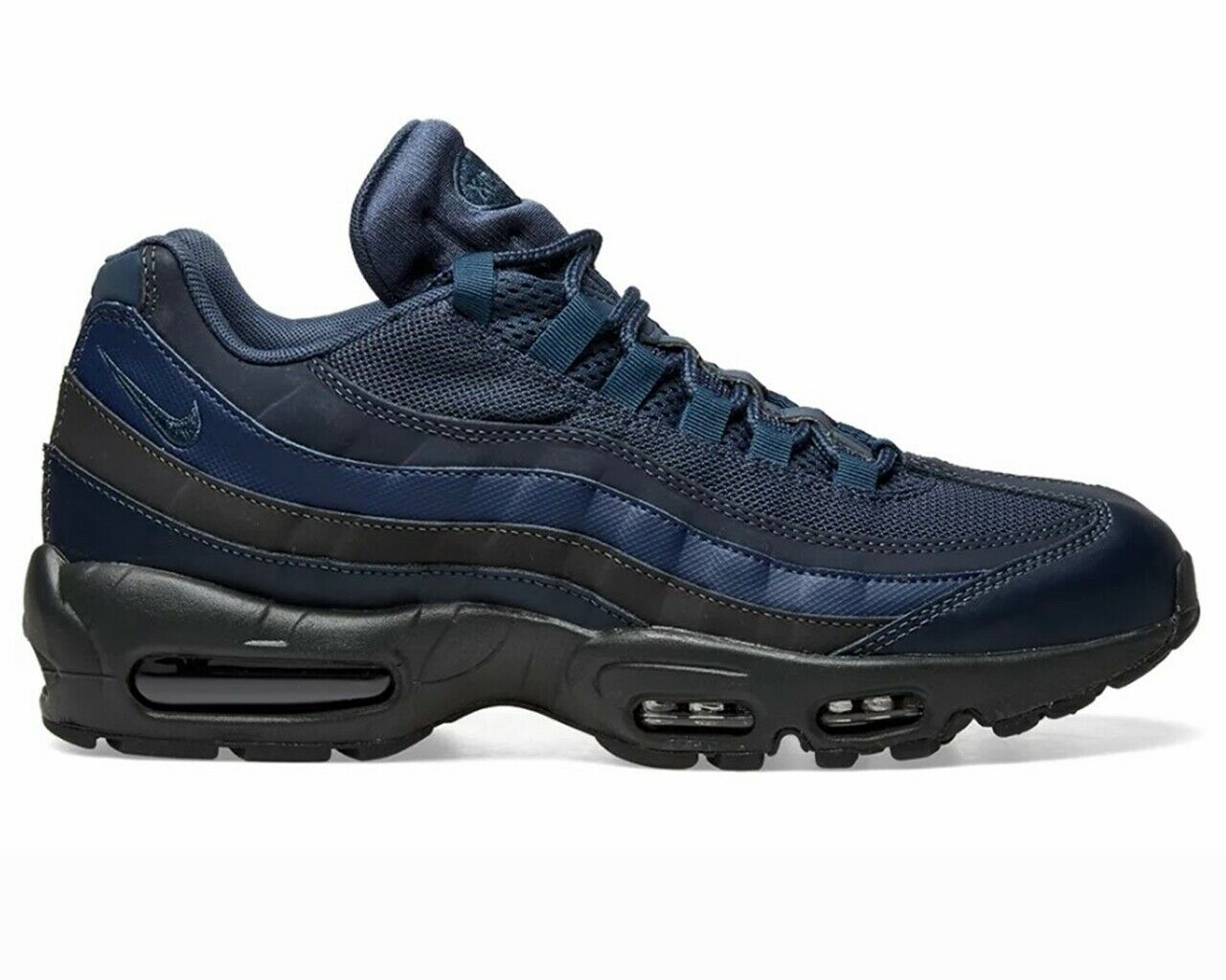 Nike Air Max 95 Essential 749766 400 Mens Trainers bluee Gym Running shoes