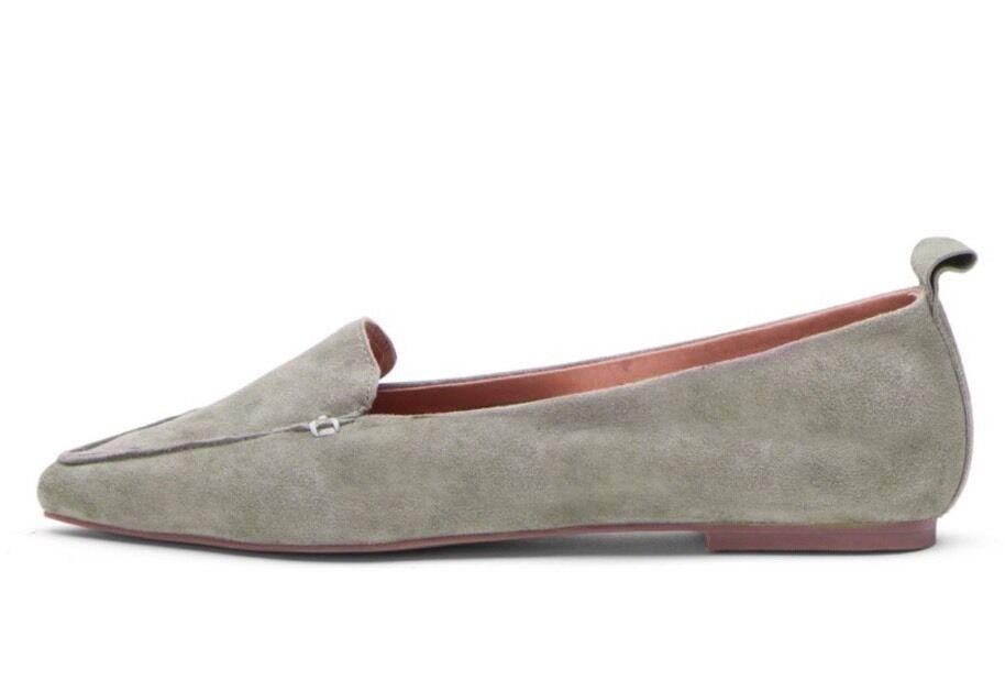 Jeffrey Campbell Vionnet Smoking Größe Flats Pointy Toe Loafer Größe Smoking 7 a98473