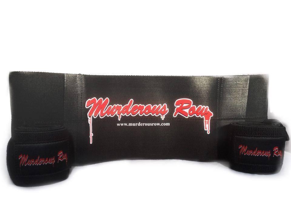 MURDEROUS ROW Bench Press Sling Shot + Wrist Wrap  Set - ULTIMATE BENCH PRESS SET  online shopping sports