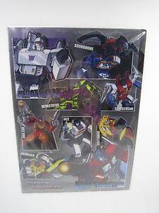 Transformers-More-than-Meets-The-Eye-A4-Size-Clear-File-Folder-Hasbro-Ellon-H-K