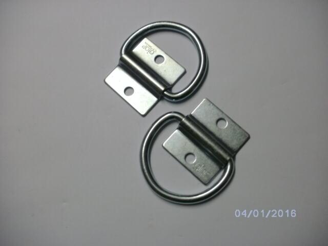 ( GÖRGEN ) 2 Stck.Anhänger Verzurrösen Platte 55 x 50 mm - Ring 75 x 65 mm TOP 1