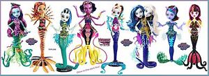 Monster-High-Great-Scarrier-Reef-Doll-Set-of-8-Down-Under-Glowsome-Ghoulfish-NEW