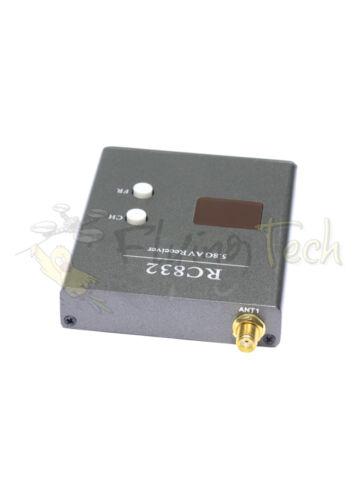 RP-SMA UK STOCK BOSCAM SKYZONE RC832 40 CH RaceBand 5.8Ghz FPV Receiver RX SMA