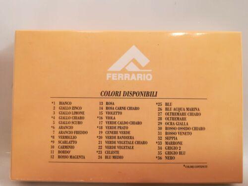 Gessintex Ferrario gessi intensi assortiti DA 12-24-36 COLORI pastelli