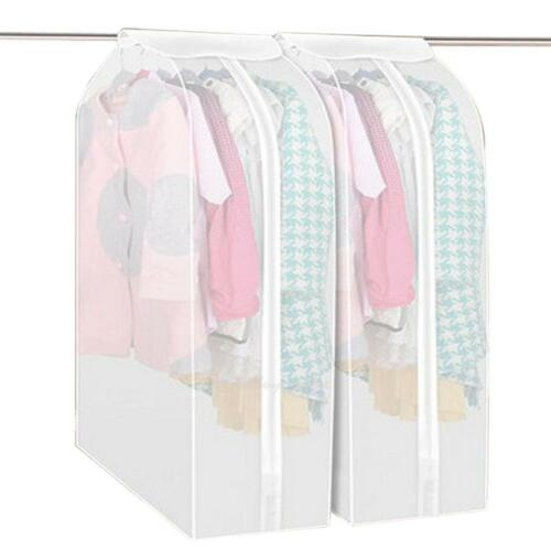 Cloth Hanging Wardrobe Storage Bag Dress Garment Suit Coat Dust Cover Protector