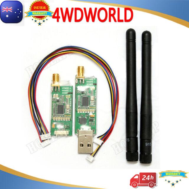3DR Radio Telemetry Kit 915Mhz Air /& Ground Module For APM2.6 APM2.8//2.5 OM