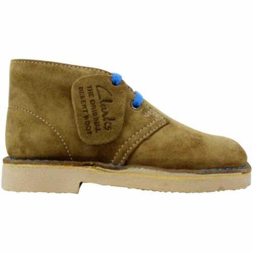 Clarks Desert Boot Boy Tan Suede 26104826 Pre-School Size 11Y