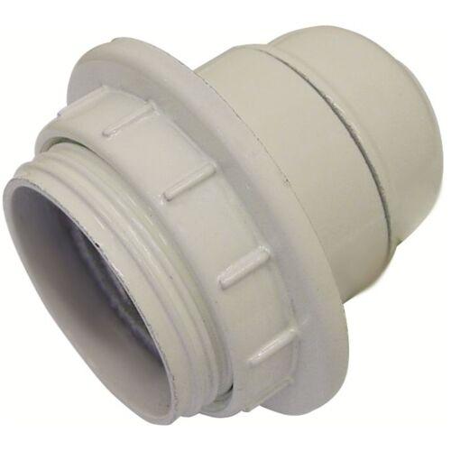 Ghiera attacco E14 colore Bianco Maurer Portalampada Filetto Parziale