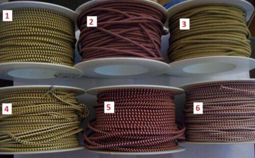 1 metre of 3mm Coloured Elastic Elasticated Shock Cord