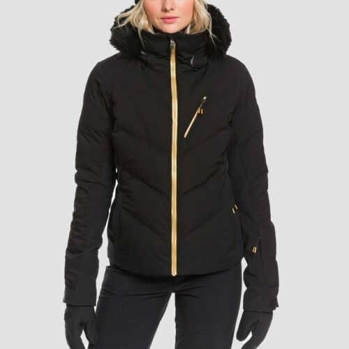 Roxy Snowstorm Plus Snow Jacket True Black - Womens True Black