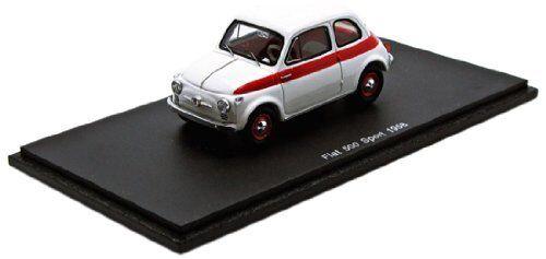 FIAT 500 SPORT 1958 bianca 1 43 MODEL MODEL MODEL s2691 SPARK MODEL 96abf0